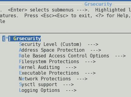 ��� ������ : Kernel Hardening using Grsecurity & RBAC System