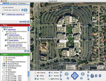 ����� Google Earth ���� ����� ������� ������ �� ��� ������ ���������